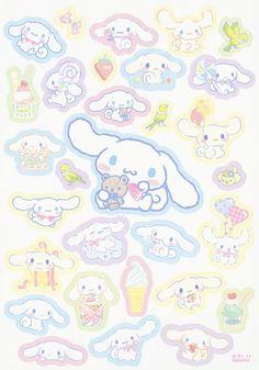 Sanrio Cinnamoroll Memo w/ Stickers Sanrio Wallpaper, Kawaii Wallpaper, Anime Stickers, Kawaii Stickers, Cute Stickers, Sanrio Characters, Cute Characters, Hello Kitty, Sanrio Danshi