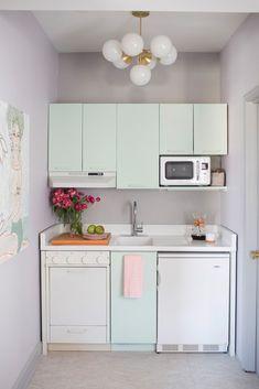 teeny tiny office kitchen