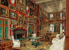 Interior Illustrations by Alexandre Serebriakoff - isabelle-rey-1