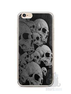 Capa Iphone 6/S Plus Caveiras - SmartCases - Acessórios para celulares e tablets :)