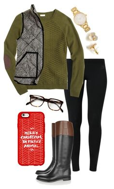 """""""#EAchristmascontest2k15"""" by madelyn-abigail ❤ liked on Polyvore featuring NIKE, J.Crew, Kate Spade, Church's, Casetify, women's clothing, women's fashion, women, female and woman"""