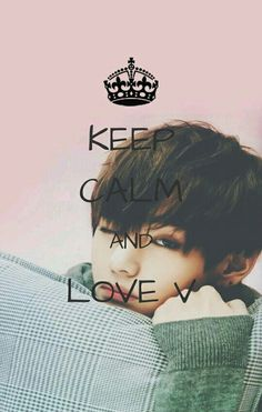 Keep Calm And Love V