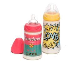Biberones Suavinex de la colección Baby Art.Disponibles en látex y silicona, #farmacia #bebe #biberones #baby #Suavinex