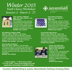 March 2015 Savannah art classes for kids include Kite Making, Teen Jewelry, Fused Glass Windchimes, Fused Glass Checkers. Details: http://www.southernmamas.com/2015/march-2015-savannah-art-classes-for-kids-include-parent-morning-mud-kite-making-more/