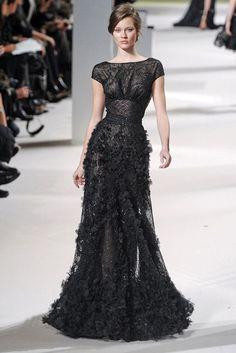 Elie Saab elie saab fashion haute couture model runway jac jagaciak dresses