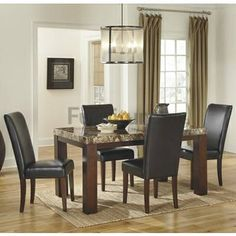 Style Contemporary Color Dark Brown Weight Lb Dimensions Dining UPH Side Chair