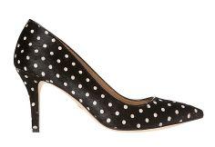 polka dot heels from ann taylor