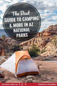 You can find a mix of RV and tent camping sites all throughout AZ. We cover if pets are allowed or not and what the rules might be. Road trip through Arizona summer or winter. The most famous National Park in Arizona is the Grand Canyon. Hiking around this expansive desert is a treat the whole family can enjoy. Tent Camping, Campsite, Arizona National Parks, Backpacking, Grand Canyon, Road Trip, Paradise, Hiking, Pets