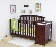 Dream On Me Niko 5 in 1 Convertible Crib with Changer, Cherry Dream On Me http://www.amazon.com/dp/B00G51GIZE/ref=cm_sw_r_pi_dp_wMSKvb1RJTK6N