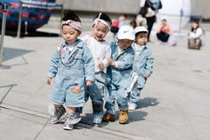 Seoul Fashion Week, wish for the adult version of these