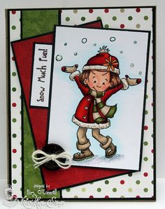 """Paper Perfect Designs by Kim O'Connell: Kratin' Kimmie Stamps """"Lexi's Winter Fun"""" stamp set"""
