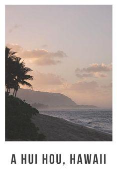 A hui hou, Hawaii Hawaii, Sunrises, Oahu, Strand, Paradise, November, Beach, Summer, Travel