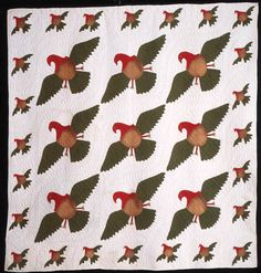 Eagle quilt from the International Quilt Study Center and Museum, 1870–1890....~♥~