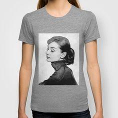 Funny Face T-shirt by Alejandro Mos Riera - $22.00