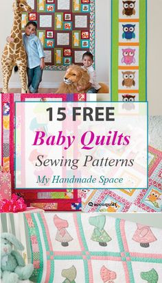 FREE Baby Quilts Patterns