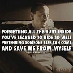 From one of my, favorite Linkin Park songs! 'Leave Out All The Rest' ks😋🎶🎤lp