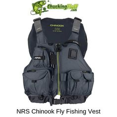 The NRS Chinook Fishing PDF is not only a vest to hold your gear but a personal floatation device. The NRS Chinook Fishing PDF is not only a vest to hold your gear but a personal floatation device. Fly Fishing Gear, Fishing Knots, Fishing Life, Trout Fishing, Bass Fishing, How To Catch Trout, Kayak Seats, Fly Fishing For Beginners, Hiking Wear