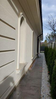 Proiect Casa Rezidentiala Bacau 2 – Profile Decorative Garage Doors, Sidewalk, Stairs, Outdoor Decor, Design, Home Decor, Houses, Prague, Stairway
