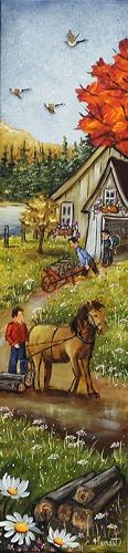 24X6 Batisseur Galerie D'art, Les Oeuvres, Images, Artists, Country, Painting, Costumes, Watercolor Painting, Toile