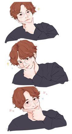 Baekhyun Brasil 🍭c('ㅅ'🍬c ( Chanbaek Fanart, Baekhyun Fanart, Baekhyun Chanyeol, Kpop Fanart, Baekyeol, Exo Anime, Baekhyun Wallpaper, Exo Fan Art, Anime Love