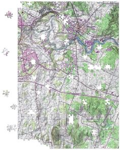 Personalized Topographic Jigsaw Puzzle