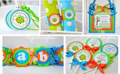 Color Combo Inspiration for Buzz Lightyear 3 year old birthday party: Owl Cupcake Toppers Owl Baby Shower Cupcake by thepaperkingdom | esty