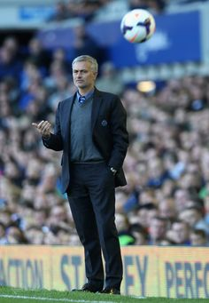Jose Mourinho - Everton v Chelsea - Premier League
