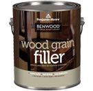 Benwood Wood Grain Filler--painting over oak cabs