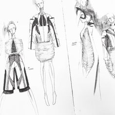 Justus Fashionary- From sketch to runway Justus is a Fashion Institute of Technology student based in New York. Using Fashionary as his fashion diary, he has created lots of amazing designs and fashion sketches! Fashion Illustration Portfolio, Fashion Portfolio, Illustration Art, Fashion Illustrations, Fashion Images, Fashion Art, Fashion Design, Fashion Sketchbook, Fashion Sketches