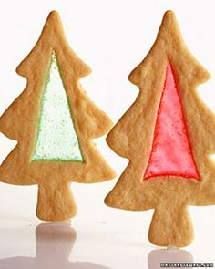 Stained Glass Trees - Martha Stewart Recipes