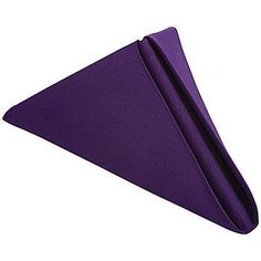 Our New Purple Polyester Napkins are made from a high quality, durable fabric that can be laundered for countless uses.
