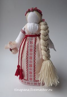 """Обереги, талисманы, амулеты ручной работы. Ярмарка Мастеров - ручная работа """"На замужество"""" Авторская кукла. Handmade."""