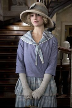 Lady Rose MacClare, daughter of Lord Grantham's cousin and great-niece of the Dowager Countess, joins 'Downton Abbey' for Series 3 and, rumor has it, causes a fair bit of trouble. #DowntonAbbey