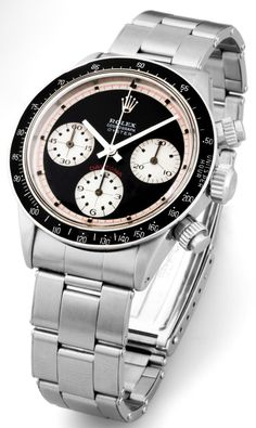 Rolex Daytona (Paul Newman). Looks best on a brown leather strap.