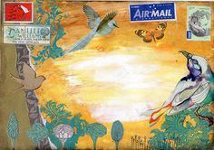 Danielle Maret - Mail Art Envelope