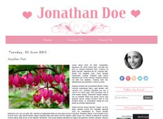 ON Sale 80 Off  The Pink Blog  Blogger Template by Symufathemes, $5.00