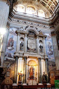 Granada, Religion, Church Interior, Andalucia, Photo Manipulation, Barcelona Cathedral, Concept Art, Scenery, Sculpture