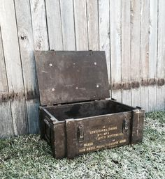 Army Crate - Behind the Scenes Event Hire