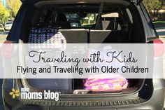 5 Tips that will make Traveling with Older Kids easier. Great ideas for keeping them entertained, have fun & teaching responsibility all at the same time..
