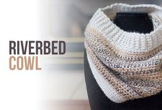A beautiful self-striping tweed is balanced out with a single-colored yarn in this cozy cowl.