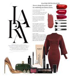 """""""Playing with colors"""" by alexandraleru on Polyvore featuring LARA, Marc Jacobs, Alexander McQueen, Alaïa, Brian Atwood, Chanel, Christian Dior, NARS Cosmetics, Forever 21 and Gucci"""
