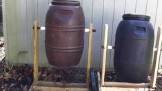 How To Build a Homemade Compost Tumbler (+playlist)