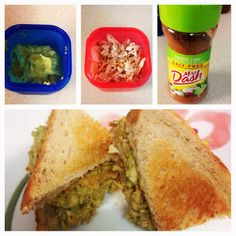 Brooke's blog: Avocado Chicken Salad (21 DAY FIX) approved, would be good on top of salad
