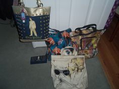 Some of my Elvis purses and bags