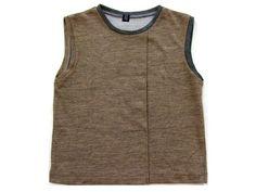 SEN川「TOMOCO TAGAWA」変形ドレープTシャツ Transformation drape T-shirt セン タガワトモコ