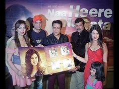 Govinda and Tanisha Singh launches NAA HEERE NU SATA album.