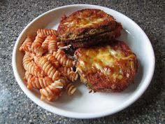 Pie Birds, Buttons and Muddy Puddles: Lighten Up - Eggplant Parmesan