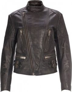 Brown leather jacket, not a bad price too for this great looking jacket.