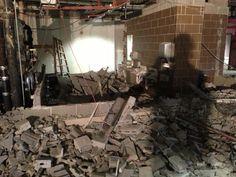 Construction in the Arts & Sciences Building is underway!