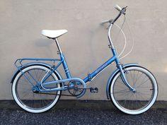 Vintage Hercules Folding Fold Up Folder Bicycle Bike Compact London Raleigh